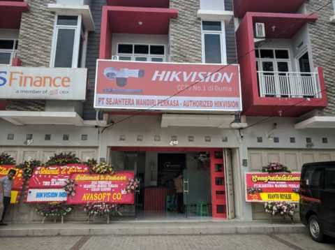 Opening Office Distributor Hikvision Bandung Sejahtera Mandiri