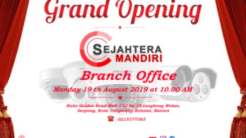 Grand Opening Branch Office Tangerang