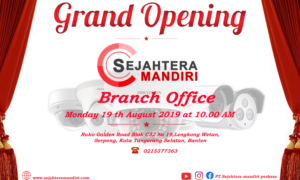 Grand Opening Branch Office Tangerang