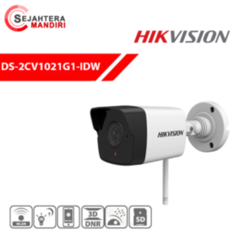 Sertifikat POSTEL Hikvision Wireless Bulllet Camera DS-2CV1021G1-IDW1
