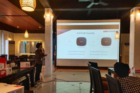 Workshop Alarm & Access Control Banjarmasin